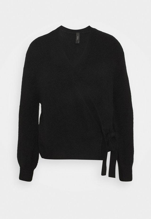 YASISABEL CARDIGAN  - Vest - black