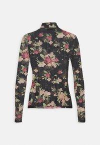 Even&Odd - Long sleeved top - black/pink - 1