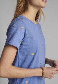 Nümph - Basic T-shirt - wedgewood - 3