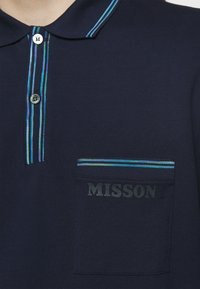 Missoni - LONG SLEEVE - Polo - blue navy - 5