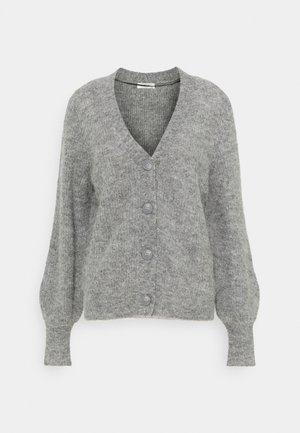 SABELLA CARDIGAN - Cardigan - mottled grey
