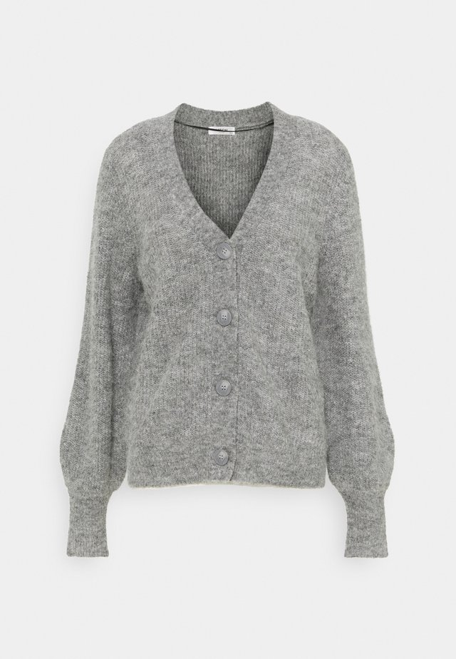 SABELLA CARDIGAN - Kardigan - mottled grey