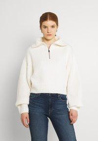 Gina Tricot - LESLIE - Jumper - warm white - 0
