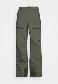 Oakley - LINED SHELL PANT - Snow pants - new dark brush - 4