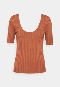 mbyM - NIXIE - Print T-shirt - copper brown - 5