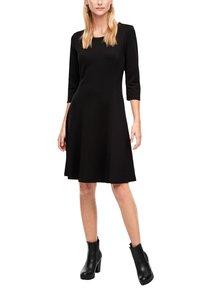 s.Oliver - Jersey dress - black - 3