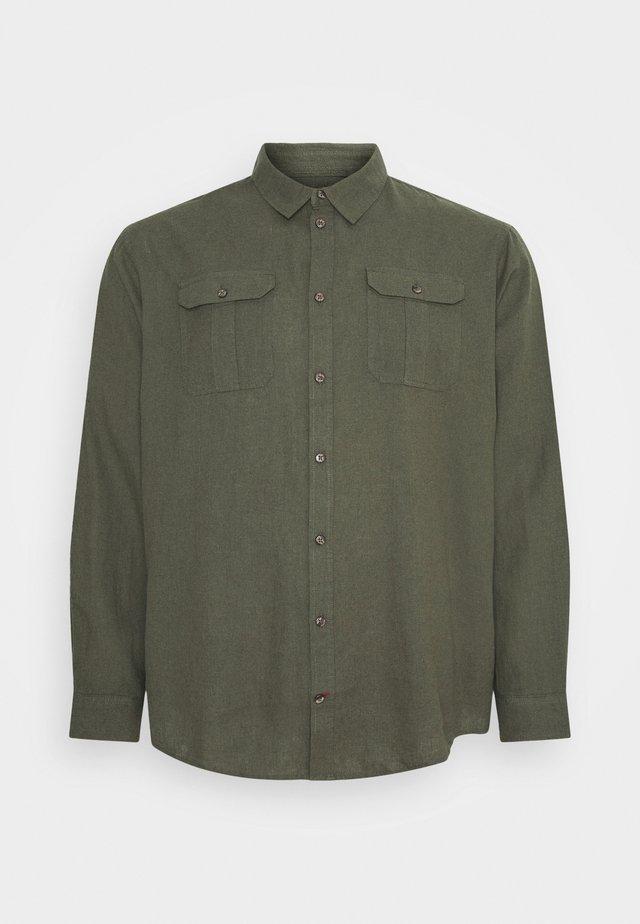 Skjorte - dusty olive