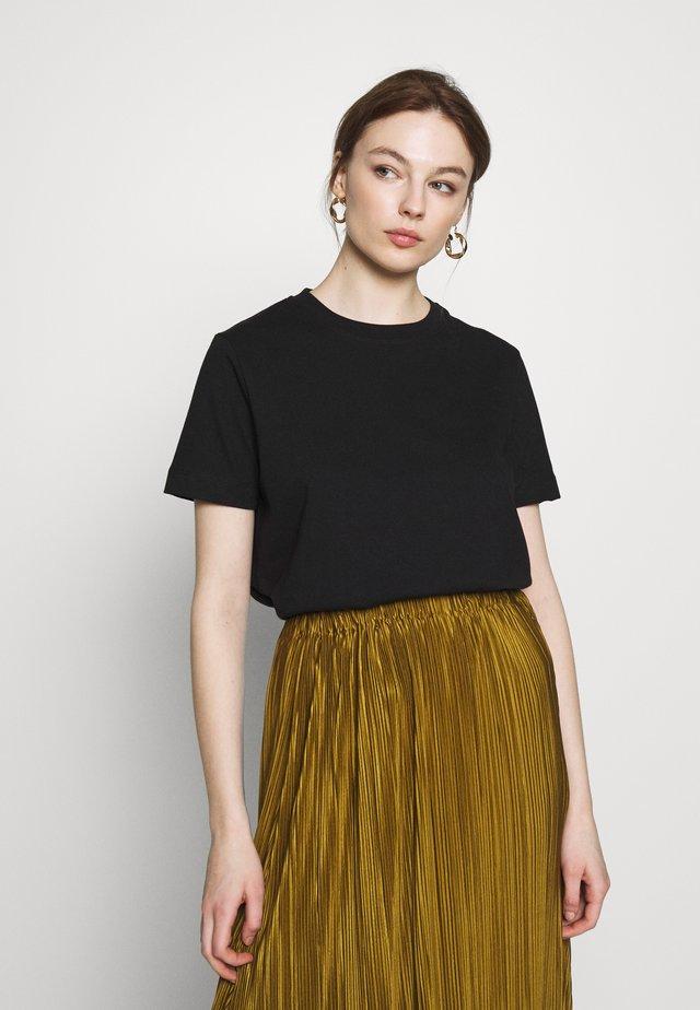 CAMINO - Basic T-shirt - black