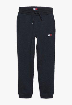 UNISEX FLAG  - Tracksuit bottoms - navy blazer