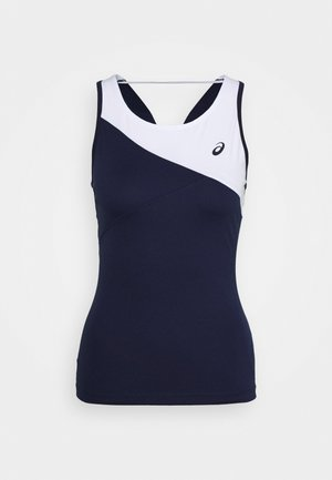 CLUB TANK - Camiseta de deporte - peacoat/brilliant white