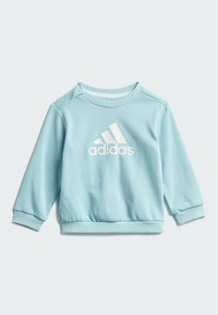 adidas Performance - BADGE OF SPORT FRENCH TERRY JOGGER - Chándal - blue - 1