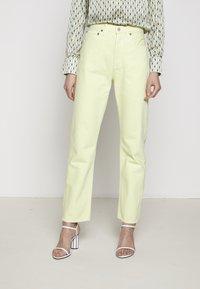Agolde - 90'S - Straight leg jeans - limoncello - 1