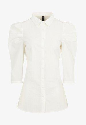 Button-down blouse - star white