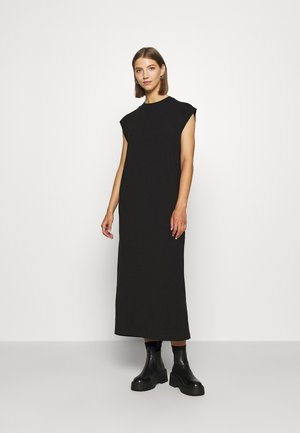LIA DRESS - Jerseyklänning - black