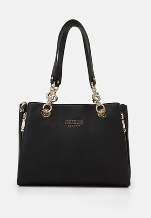 CHAIN GIRLFRIEND SATCHEL - Handbag - black