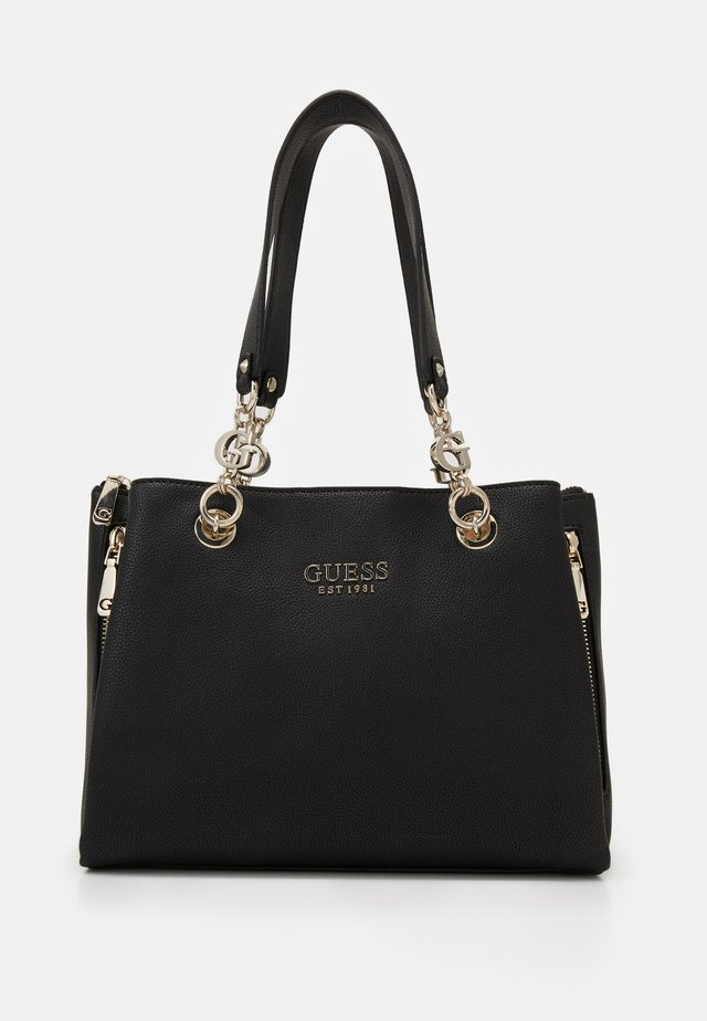 CHAIN GIRLFRIEND SATCHEL - Handväska - black