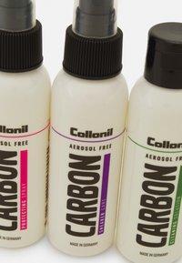 Collonil - CARBON LAB AEROSOL FREE SET - Skotillbehör - transparent - 3