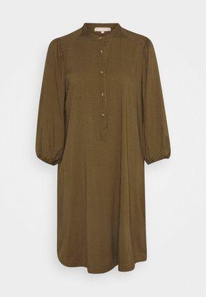SRFILUCCA 3/4 DRESS - Skjortekjole - yellow