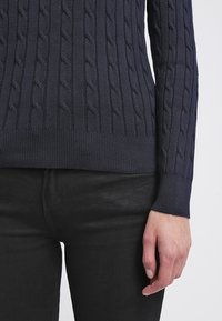 GANT - CABLE CREW - Pullover - evening blue - 6