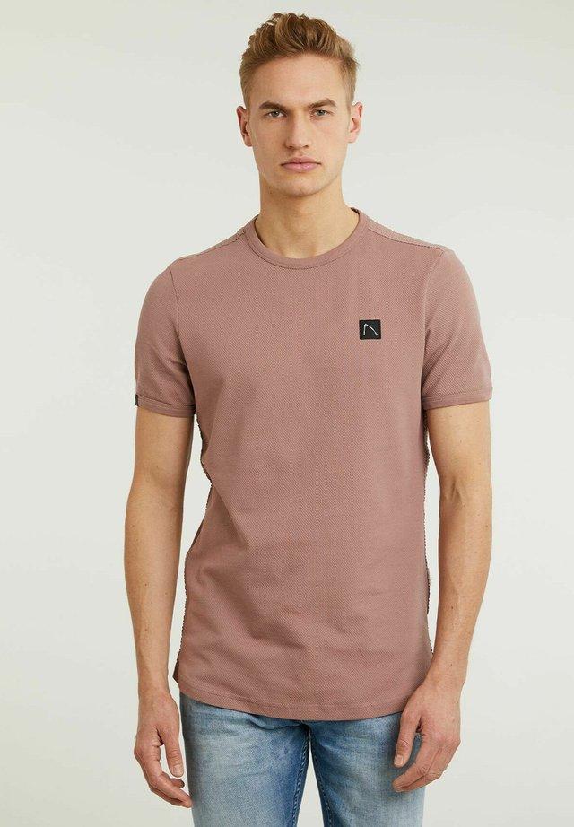LUCAS - T-shirt basic - pink