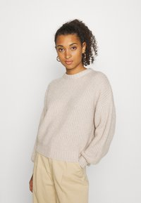 Even&Odd - Strikpullover /Striktrøjer - light tan - 0