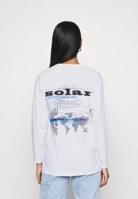 Topshop - SUN SOLAR SKATER - Long sleeved top - white - 2