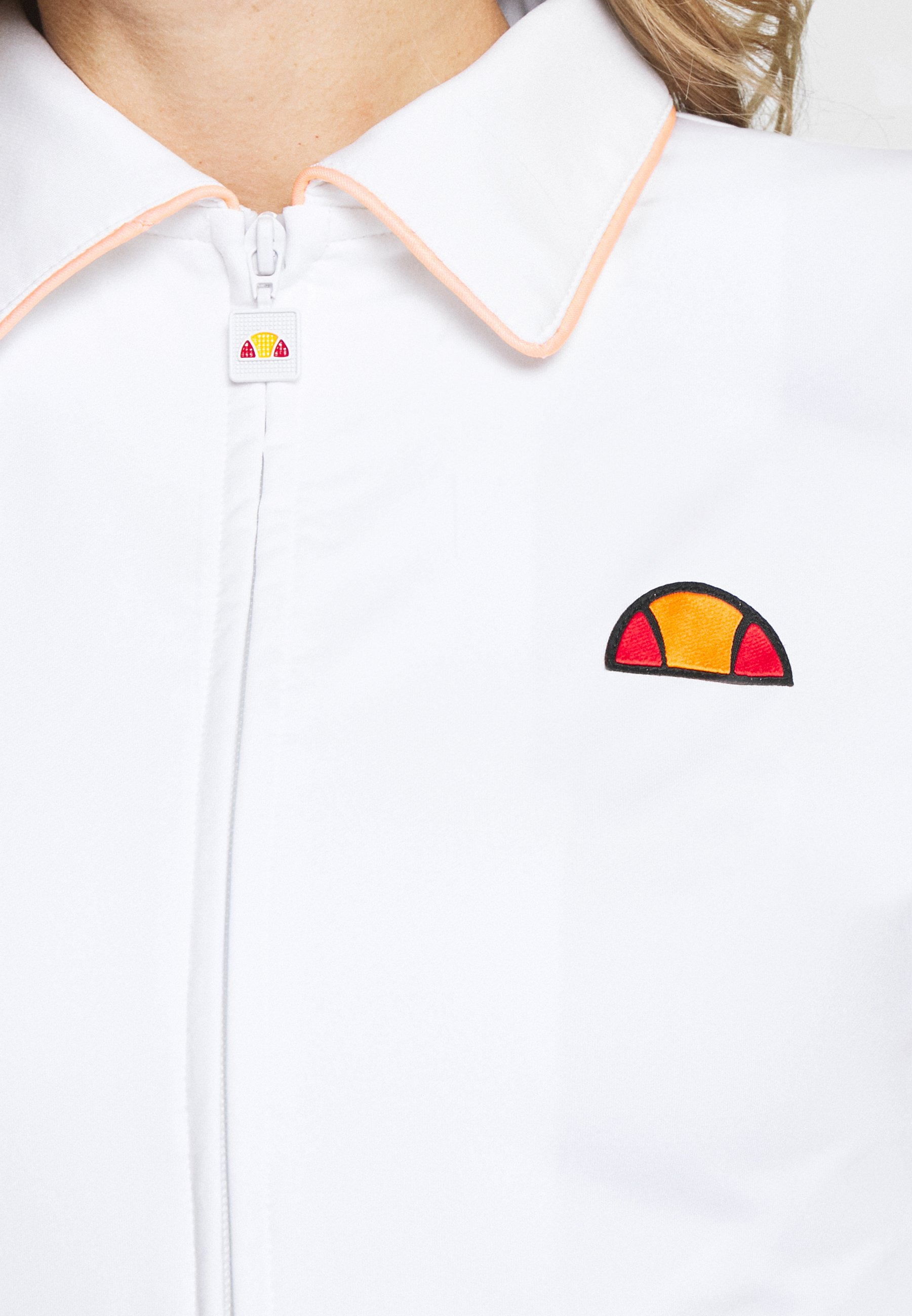 Outlet Women's Clothing Ellesse BLAZE Training jacket white 9y8N3YCtL