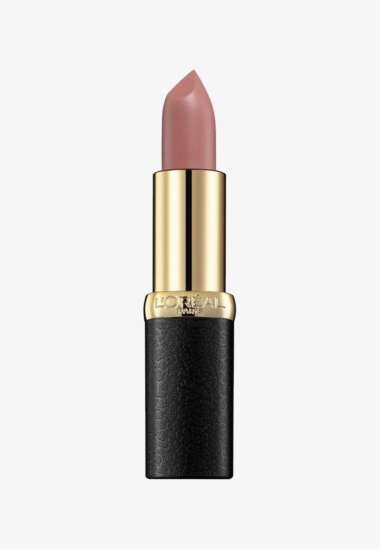L'Oréal Paris - COLOR RICHE LIPSTICK MATTE - Lipstick - 633 moka chic