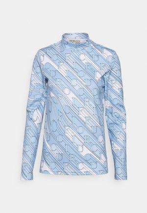 MONOGRAM  - Long sleeved top - blue
