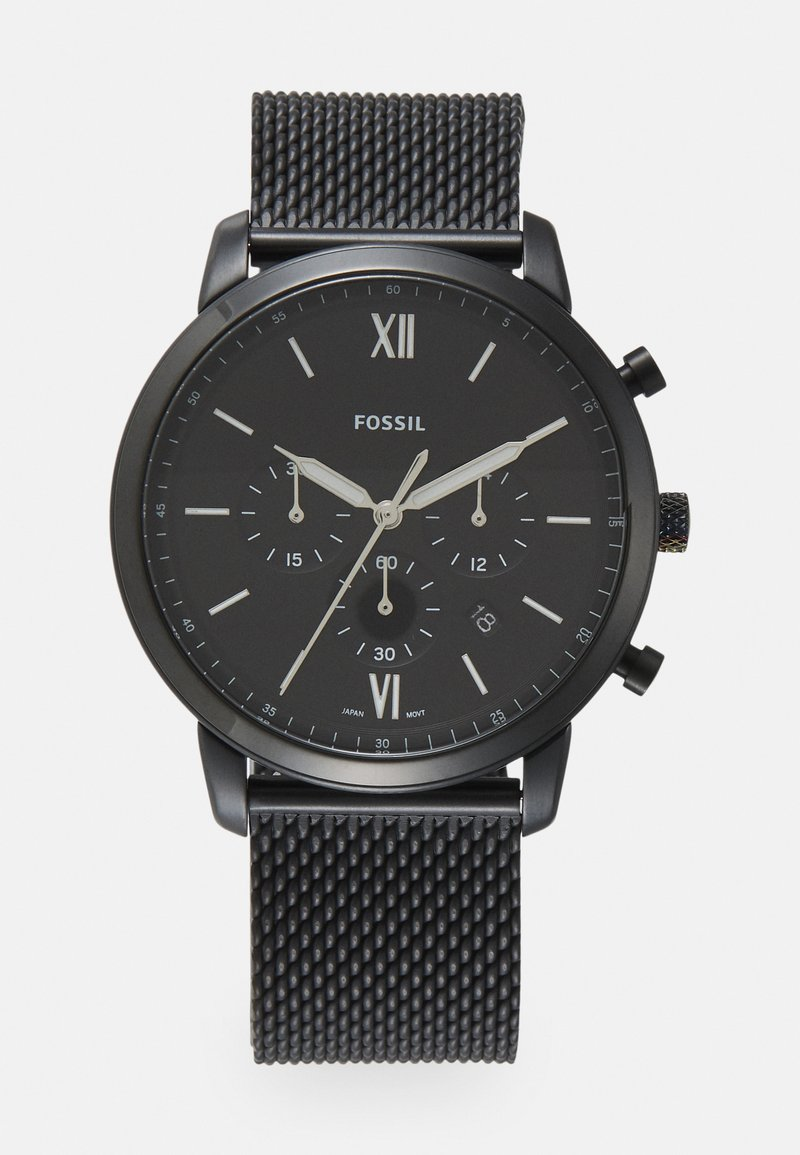 Fossil - NEUTRA CHRONO - Chronograph watch - black