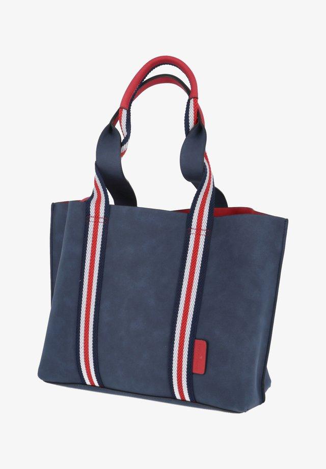 Shopping Bag - blau - kombi