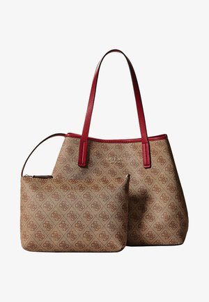 VIKKY SET - Handbag - brown
