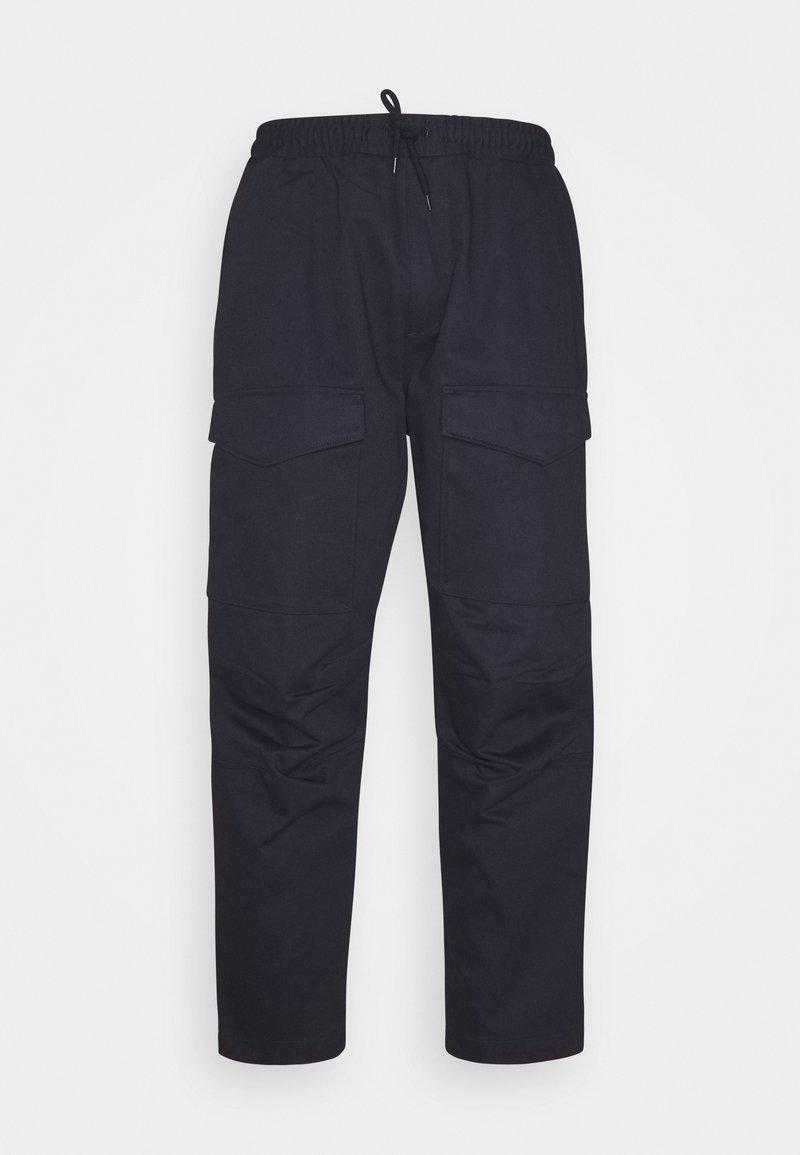 Edwin - MANOUVRE PANT - Kalhoty - dark blue