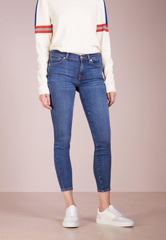 CROP - Skinny džíny - bair vintage dusk