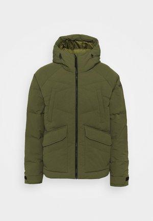 BIG BAFFLE - Winter jacket - focus olive
