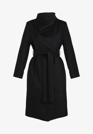 SYRIGA - Classic coat - black