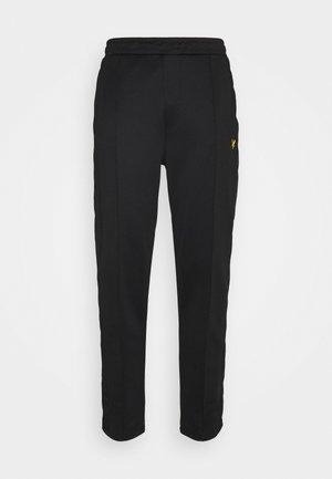 TRACK PANT WITH TAPING - Teplákové kalhoty - jet black
