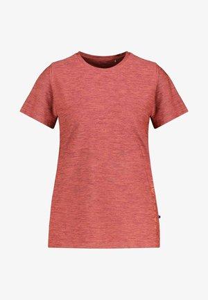 KAJOO - Print T-shirt - dunkelbraun