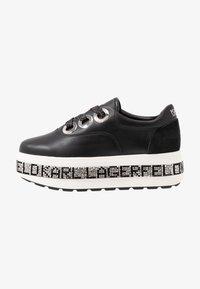 KARL LAGERFELD - KOBO KUP 3 EYE TIE - Sneakers basse - black - 1