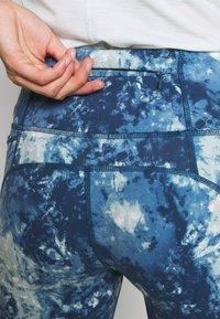 Sweaty Betty - POWER 7/8 WORKOUT LEGGINGS - Legging - beetle blue - 6