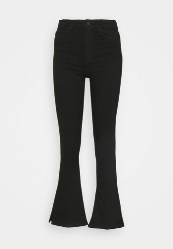 NATASHA - Straight leg jeans - black