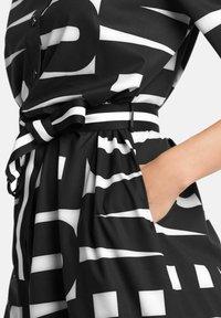 Marc Cain - Shirt dress - schwarz - 4