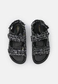 ALOHAS - HOOK LOOP  - Sandals - black - 5