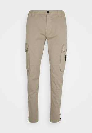 WASHED PANT - Cargobroek - elephant skin