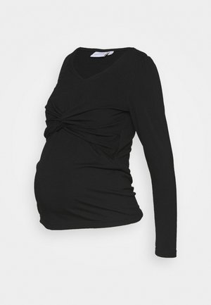 MLMACY JUNE  - Long sleeved top - black