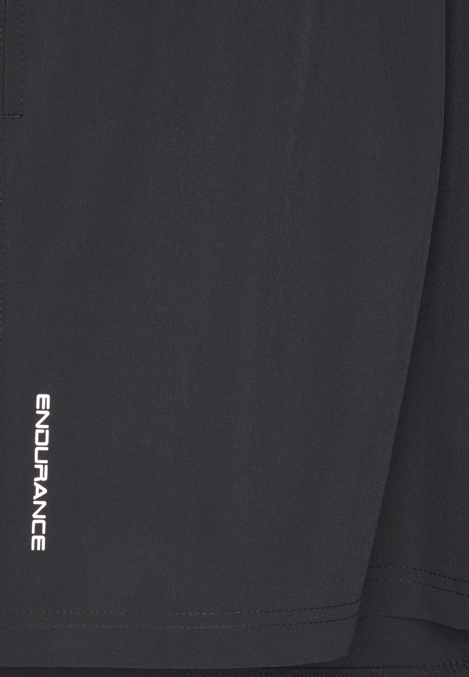 Endurance VANCLAUSE SHORTS - Pantalón corto de deporte - black bW8p1