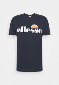 Ellesse - SMALL LOGO PRADO - Print T-shirt - navy - 4