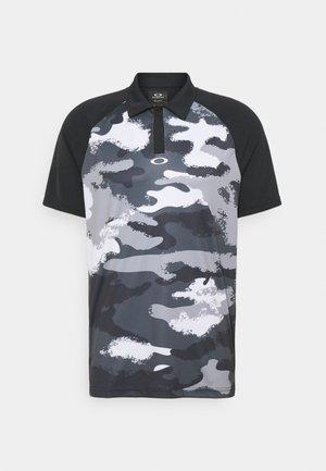 FAIRWAY CAMO - Polo shirt - blackout