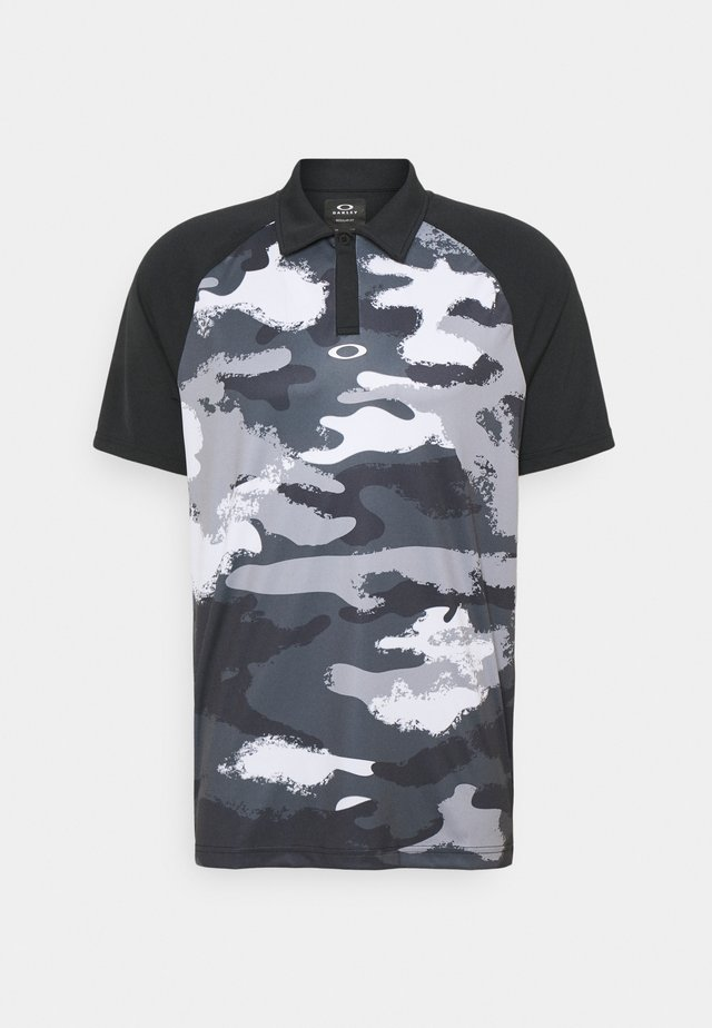 FAIRWAY CAMO - Poloshirt - blackout
