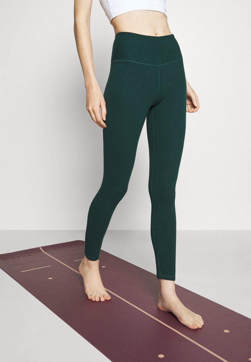 Cotton On Body - WAFFLE FULL LENGTH - Legging - june bug
